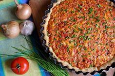 Przepisy Online: Tarta z mięsem mielonym i pomidorami