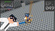 Minecraft Jurassic Crazy Tech Modpack Ep049 - Svolazzando Con Il Jetpack...