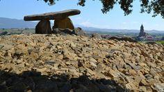 El dolmen de la Hechicera recupera su esplendor. Diario de Noticias de Alava