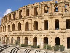Coliseo de El Djem. Tunez