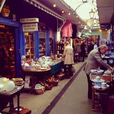 Camden Passage, is a lovely little place to wander about - full of antique shops and markets, little independent places and plenty of places to stop for a drink or bite to eat.