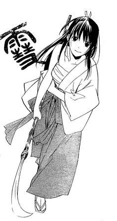 Hiyori in Yato's delusions