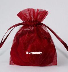 3x4 Organza Bag
