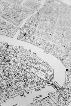 Venice Map   James Gulliver Hancock