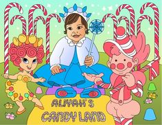 Custome coloring books from Nicole's coloring pages