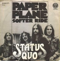 Quo Rick Parfitt, Status Quo, Paper Plane, History, Vertigo, Music, Germany, Middle, Icons