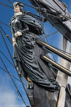Sailing Ship Figurehead #figurehead