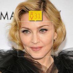 """Die Website """"How old"""" misst wie alt man auf Fotos aussieht. Hier: Madonna."""