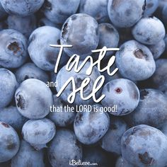 View Taste and See that the Lord is Good  - Inspirations. Share, pin and like encouragement for Christian women.