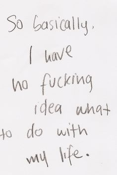 story of my life. but I like it that way.
