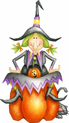 halloween witch clip art images