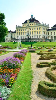 still sad i never visited Stuttgart when my aunt lived there. Ludwigsburg Palace, Stuttgart, Germany