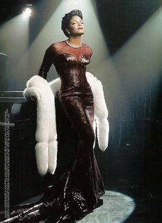 Janet Jackson - Love her hair