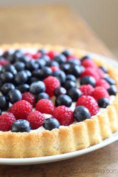 No bake summer tart
