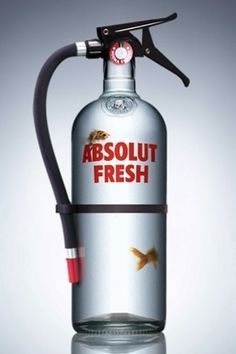 Absolut advertisement