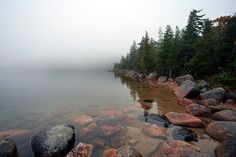 Jordan Pond, Asticou, Bar Harbor, ME by thefuton, via Flickr
