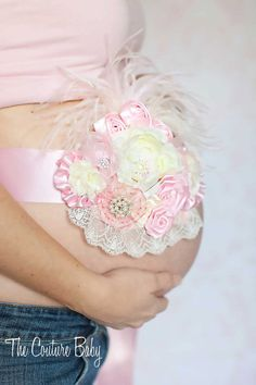 Maternity Pregnancy Photo Prop Couture por CoutureBabyHeadbands