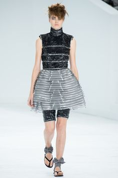 Chanel Fall 2014 Couture Fashion Show - Agne Konciute (Next)