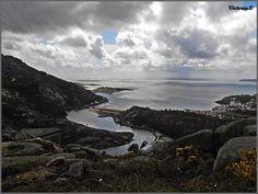 Vista desde el Mirador del Ezaro.