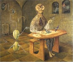 A website dedicated to the surrealist painter REMEDIOS VARO. This website contains a biography, images, and links. on Remedios Varo. Art And Illustration, Visual Thinking Strategies, Art Visionnaire, Art Du Monde, Surrealism Painting, Mexican Artists, Visionary Art, Salvador Dali, Fine Art