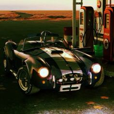 Ford Shelby AC Cobra refueling #speedmachine