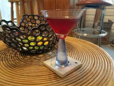 A true #RedRum #Martini made w/ #Red #Licorice #Liqueur & #Coconut #Rum. How #Chillin!   . . #Shinning #Book #StanleyHotel #StephenKing #cocktails #mixology #drinks #bar #booze #cocktail #foodie #cocktailporn #Halloween #haunting #EstesPark #rockies #haunt