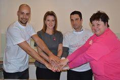 a DVSC focicsapata a Mályvavirág mozgalom támogatója - orvosunk dr. Bartha Tünde