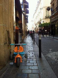 Paris never takes itself too seriously =)  Saw this last May near Notre Dame de Paris.