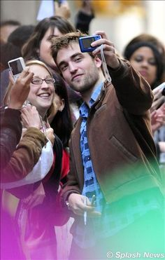 Robert Pattinson au Today Show à New York