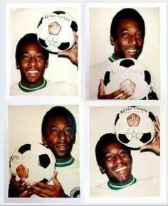 Warhol y Pelé