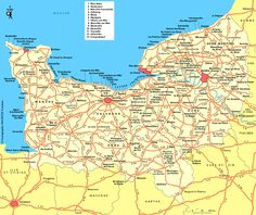 Carte Normandie : Plan Normandie - Routard.com