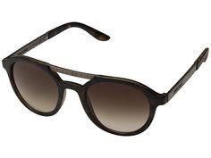 b649845e6d7 Giorgio Armani 0AR8095 (Matte Havana Brown Gradient) Fashion Sunglasses. Be  dashing and