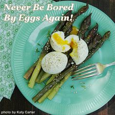 Never Be Bored By Eggs Again!