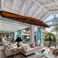 Whitewash interior at the Sea Grill restaurant at Puente Romano, Marbella, Spain!