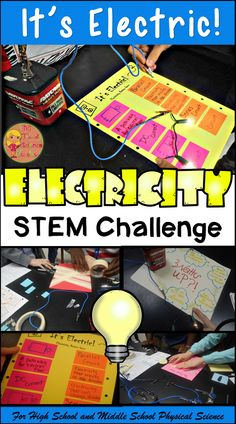 Excite and engage your middle and high school Physical Science students with this Electricity STEM Challenge activity! This highly engaging project allows students to use their knowledge over electrical circuits to create a GAME board that their fellow classmates can PLAY as a review for an upcoming test. It's a win, win for both student and teacher!