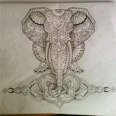 #tattoo #tattoos #tatuaggi #tatuaggio #tattoosketch #sketch #flashtattoo #ink #inked #instaart #instatattoo #illustration #illuatrazione #italianartist #art #artwork #aliceravenna #elephant #elefante #mandala #mandalatattoo #ladyartist #ladytattoers