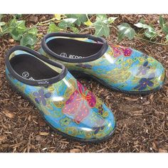 Sloggers Womens Polka Dot Rain and Garden Shoes Sloggers Fan