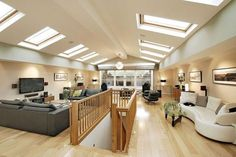 If I ever have an attic, I want it to look very much like this