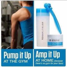 There is no gym for your face BUT thank goodness we have access to the Rodan+Fields patented little blue gem and it only takes a minute to use! A little curious? You should be...,because our AMP MD Roller will help those wrinkles, scars, and loss of firmness! Ready to start to rolling...Contact me today!  #ampmd #wrinkles #agingbackwards https://blushnglow.myrandf.com
