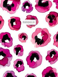 Pattern Design · Moniquilla · Prints & Pattern Design