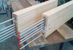 Steel rob timber joint