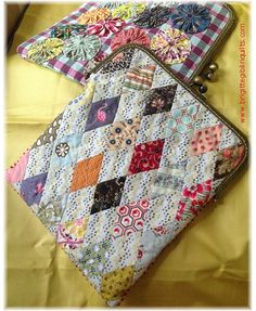 """i-Purse"" pattern   Brigitte Giblin Quilts"
