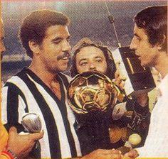 """Toninho Cerezo"" Antônio Carlos Cerezo (Clube Atlético Mineiro, 1972–1983, 111 apps, 12 goals + 1997)"