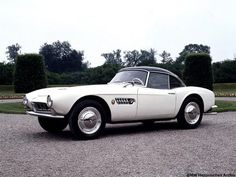 1956 BMW 507 with hard top