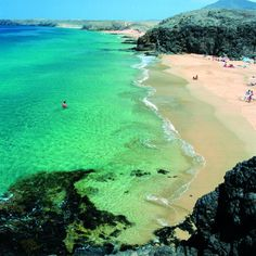 Lanzarote has many amazing beaches. Here are the top ten. A beach beauty contest if ever there was one.