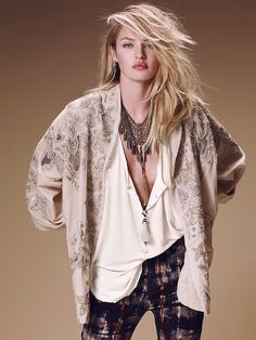 Free People Super Babe Beaded Jacket at Free People Clothing Boutique