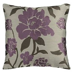 Purple Accent Pillows    I love using trendy, unique and cool purple accent pillows.  In fact using the color purple says you love all things luxury, mysterious and powerful.  I love using purple accent pillows with my purple home decor scheme.  Especially when it comes to purple floral accent pillows and purple abstract accent pillows.  Both make a home look modern and relaxing.    Surya HH-048 Hand Crafted 88% Polyester / 12% Polyamide Plum 18