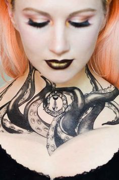 These octopus tentacles that'll transform you into a bewitching siren. | These Temporary Tats Are the Perfect Lazy Costume Idea. Buzzfeed.com