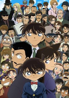 Conan/shinichi and Friends...and Kairo Kid (from DETECTIVE CONAN) Must watch because every Case is only one Episode and is Full of Fantasy
