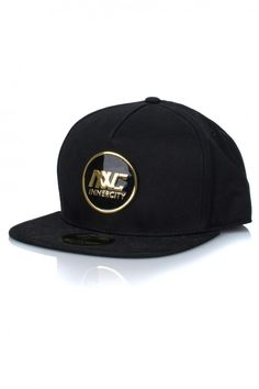 Innercity Cartel Gold Metal Badge Snapback - Black | 71Queens    Shop the whole Innercity Cartel best selling collection at www.71queens.com. New arrivals weekly! Free delivery available.